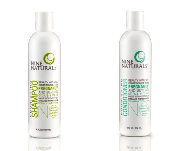 Nine Naturals Citrus + Mint Shampoo & Conditioner