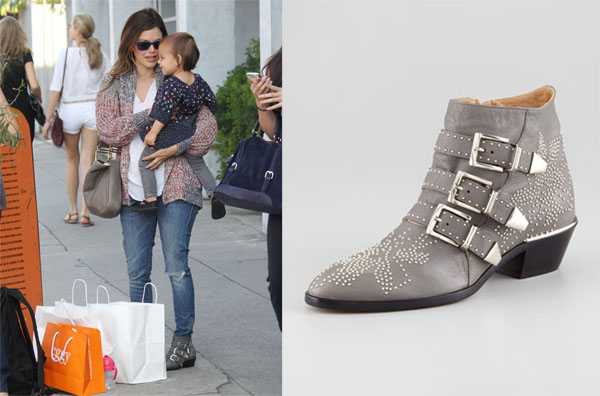 Chloé Buckled Boots 7CVEc