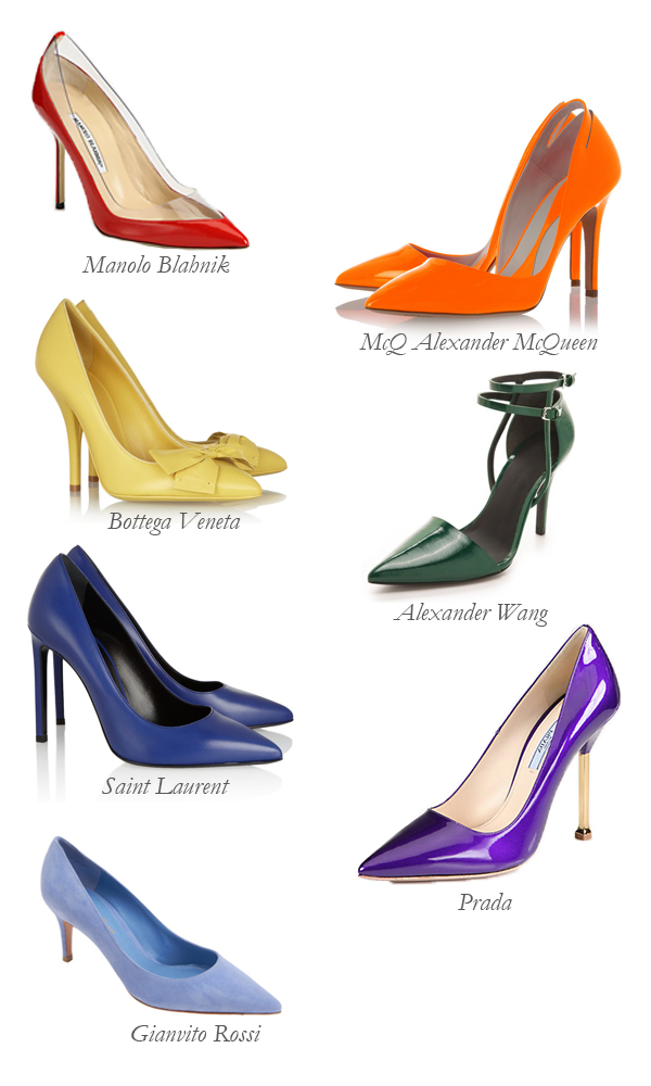 Pumps of the Rainbow
