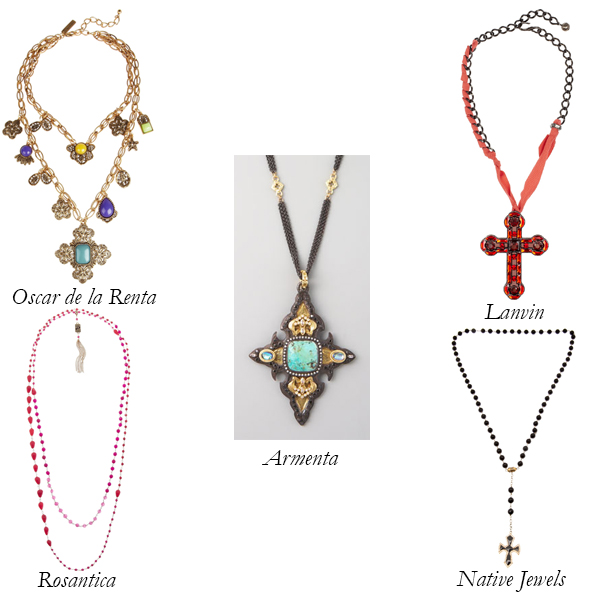 Crucifix and Rosary-Inspired Necklaces