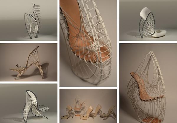 Marla Marchant 3D Printed Footwear