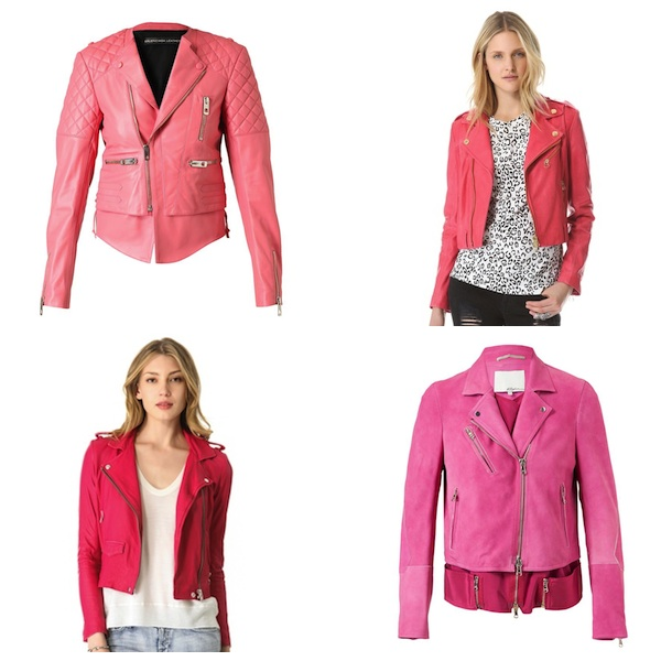 Bright Leather Jackets