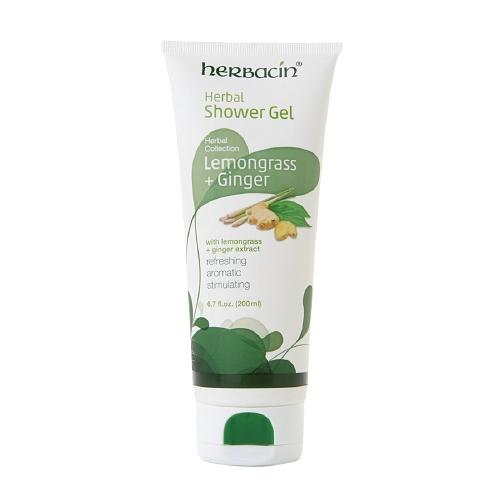 Herbacin Lemongrass + Ginger Shower Gel