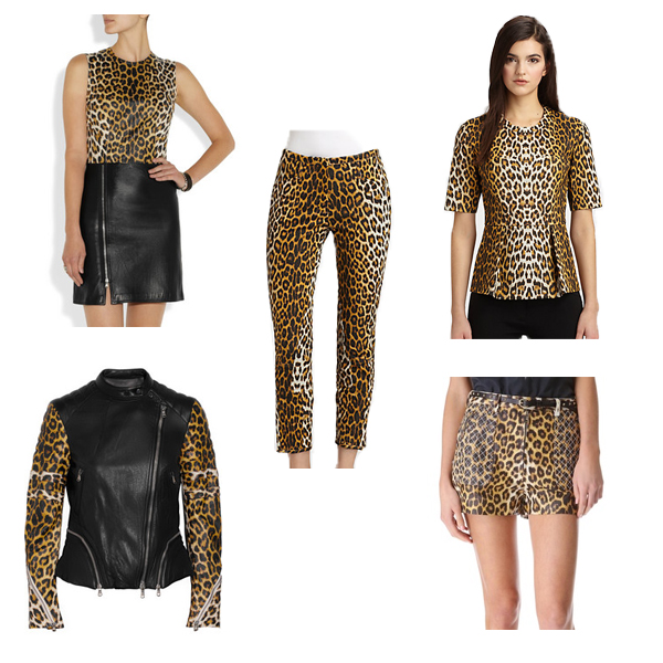 3.1 Phillip Lim Leopard-Printed Leather