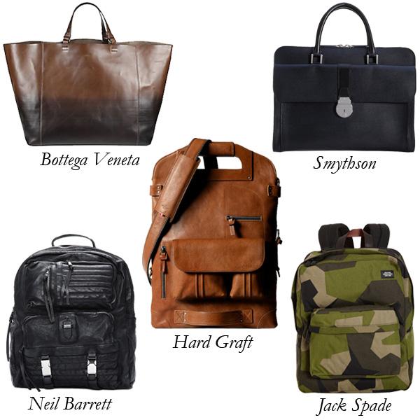 Hard Graft, Smythson, Jack Spade, Neil Barrett, Bottega Veneta Father's Day Bags