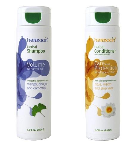 Herbacin Shampoo & Conditioner