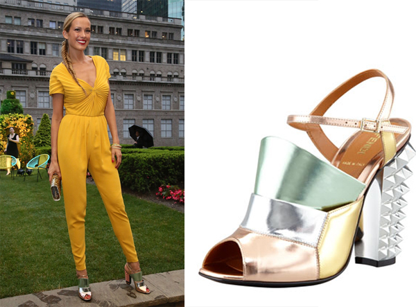 Petra_Nemcova_Fendi_Pyramid_sandals