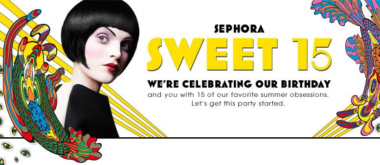 Sephora Celebrates Its Sweet 15