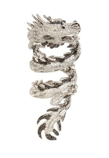 Elise Dray Dragon Articulated Ring