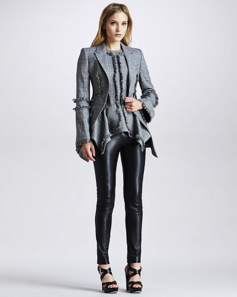 McQ Alexander McQueen Leather Pants