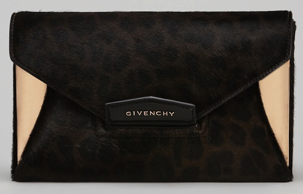 Givenchy Leopard Clutch