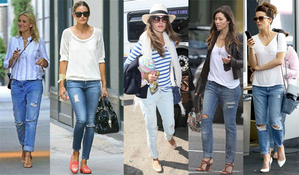 trend alert distressed denim
