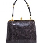 Dolce & Gabbana Python Structured Bag