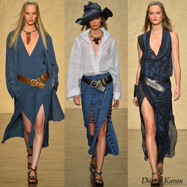 Donna Karan Spring 2014 Collection