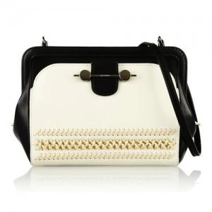 Jason Wu Daphne Two-Tone Leather Shoulder Bag