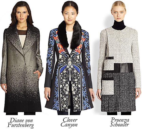 Top 5 Statement Coats