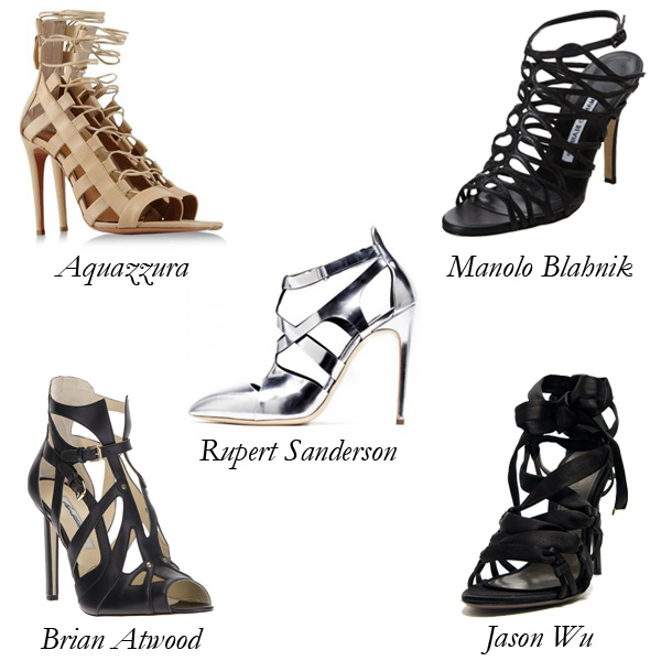 Extra Strappy Sandals