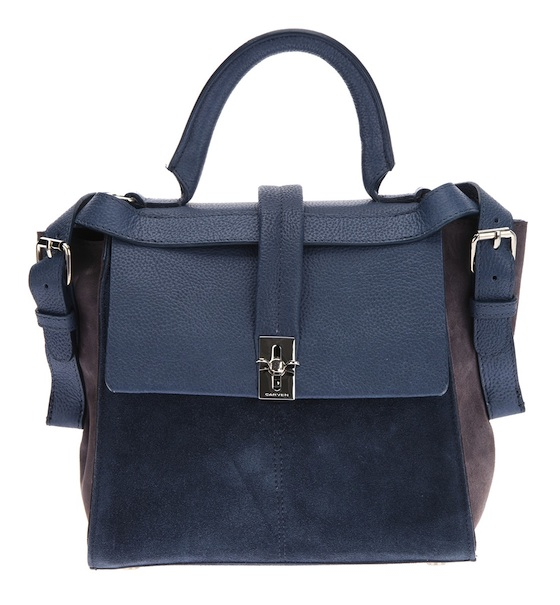 Carven Colorblock Small Tote