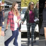 Celebs Pretty in Plaid