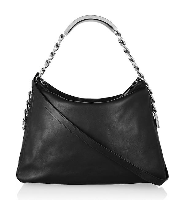 Maison Martin Margiela ID Bracelet-Handle Leather Shoulder Bag