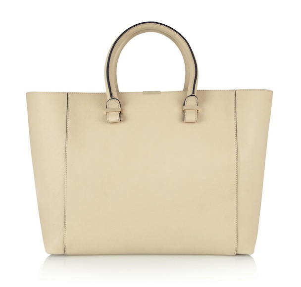 Victoria Beckham Liberty Textured-Leather Shopper