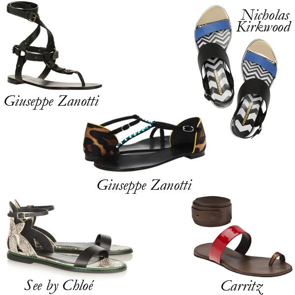 Resort Flat Sandals