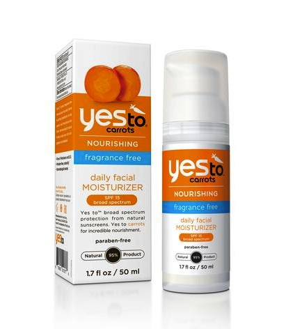Yes to Carrots Fragrance Free Line