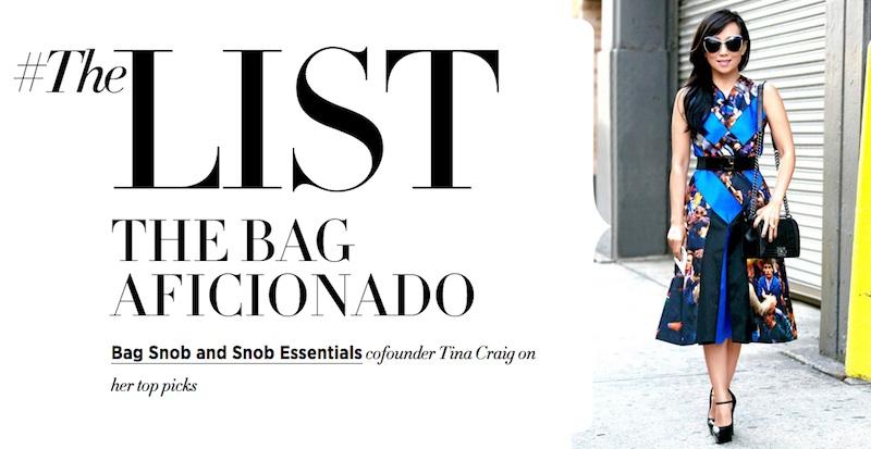 Bag Snob x Harper's Bazaar