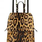 Jérôme Dreyfuss Florent Leopard-Print Calf-Hair Backpack
