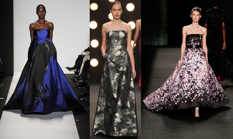 Fall 2014 Trend Report: Printed Gowns and Dresses - Snob Essentials