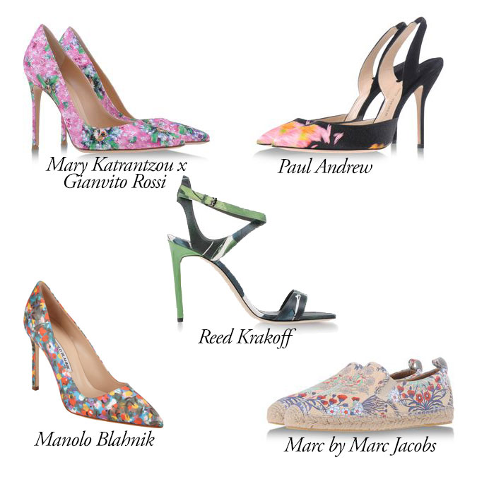 Top 5 Floral Shoes