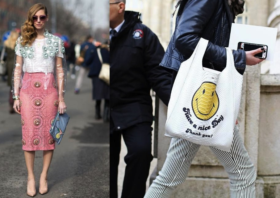 Novelty Bags Street Style