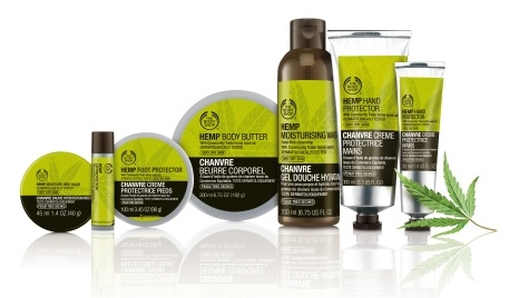 The Body Shop Hemp Range and the Benefits of Hempseed Oil