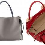 Chloe Leather Satchel Bag