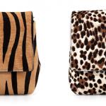 Christian Louboutin Rougissime Calf-Hair Clutch Bags