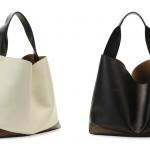 Marni Tricolor Leather Hobo Bag