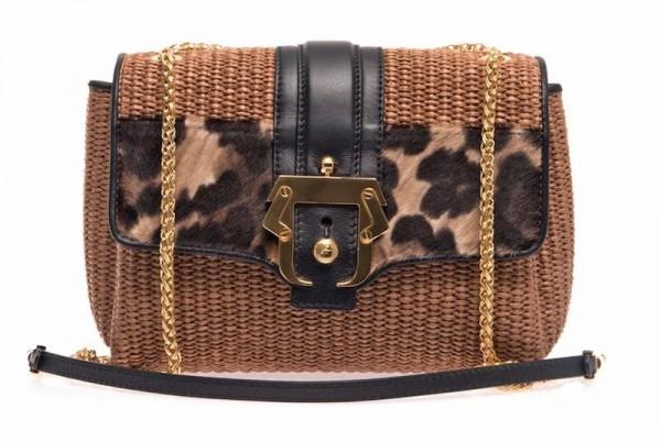 Paula Cademartori Carine Natural Straw Shoulder Bag