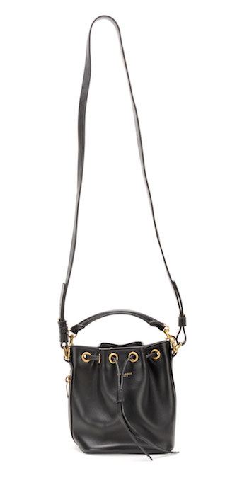 Saint Laurent Small Bucket Crossbody Bag