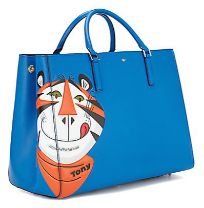 Anya Hindmarch Corn Flakes and Frosties Clutches and Tote