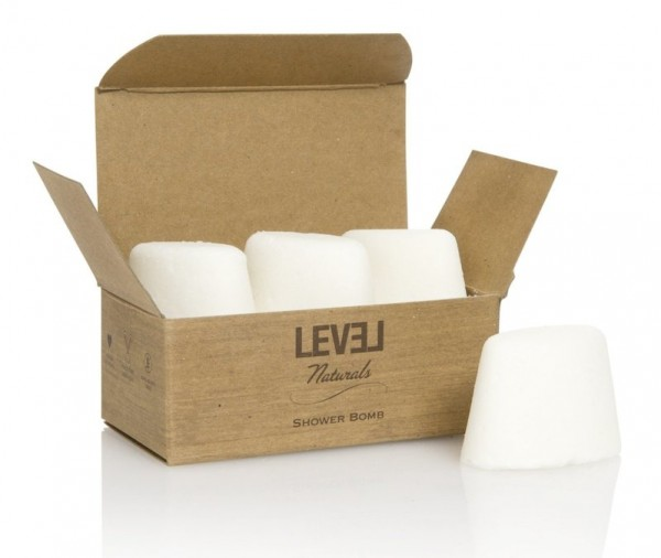 Level Naturals Aromatherapy Fizzing Shower Bombs