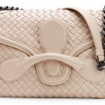 Bottega Veneta Medium Intrecciato Flap Shoulder Bag