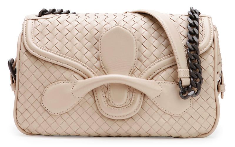 dbbf6153de9c Bottega Veneta Medium Intrecciato Flap Shoulder Bag  Clap for the ...