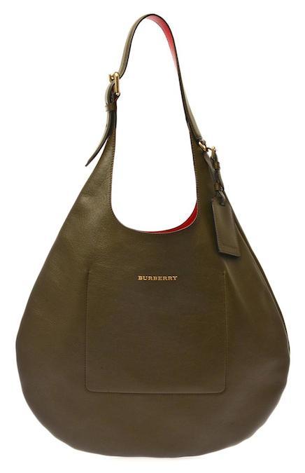 9bdd0590e580 Burberry London Leather Hobo Bag  Grab Bag
