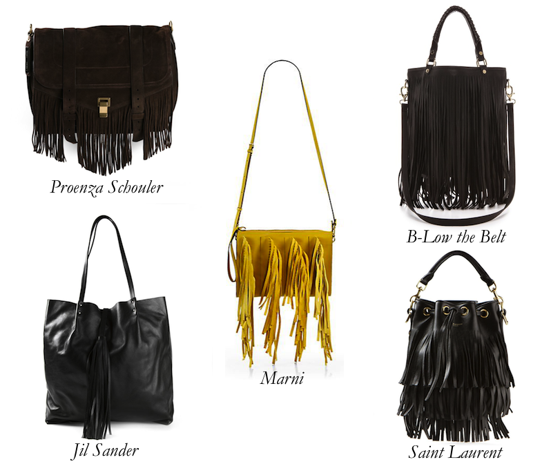Fringe Accessories: Bet on that Trend
