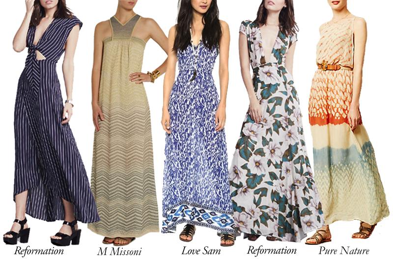Top 5 Maxi Dresses