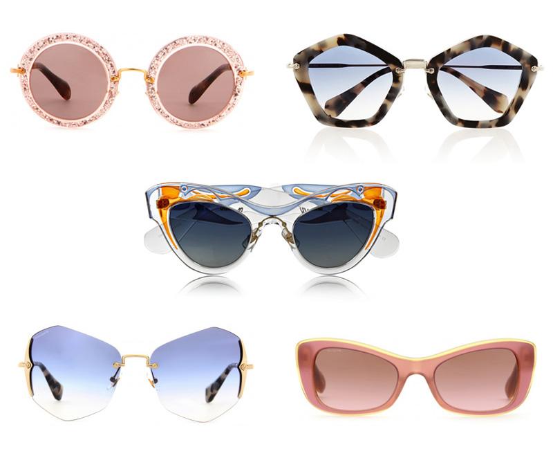 4778bce9336c Miu Miu Sunglasses: Shape Up and Ship Out - Snob Essentials