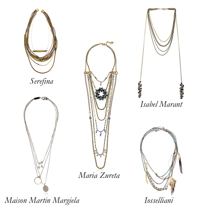 Top 5 Multi-Chain Necklaces