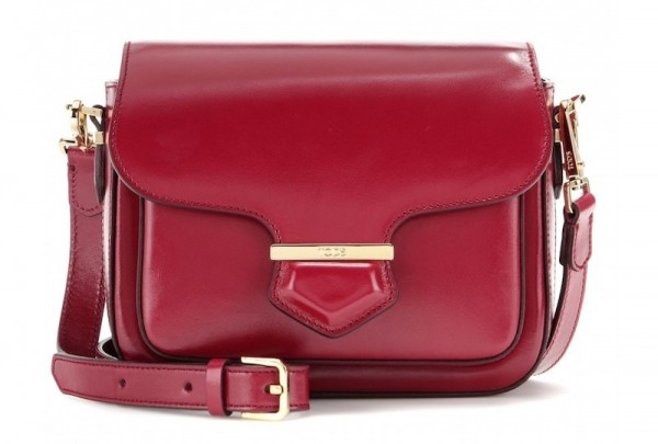 Tod's Military Mini Leather Shoulder Bag