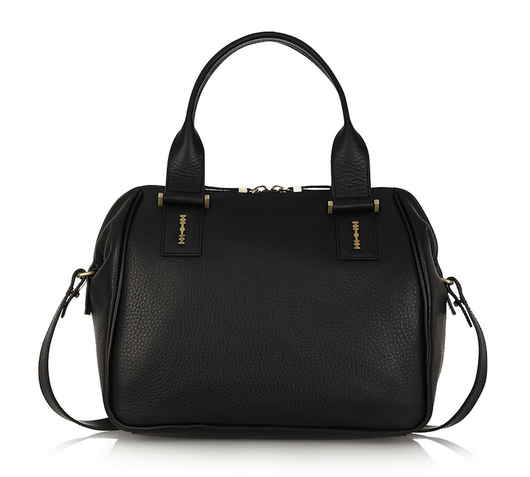 McQ Alexander McQueen YT Textured Leather Tote
