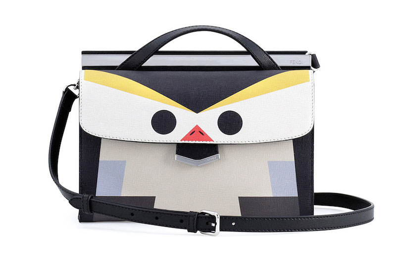 Fendi Mini Demi Jour Penguin Bag